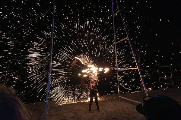 The Beach Bar Fire Show