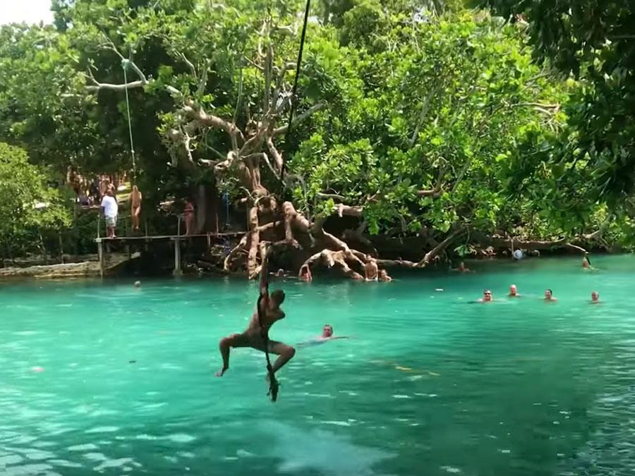 Image of Blue Lagoon in Vanuatu