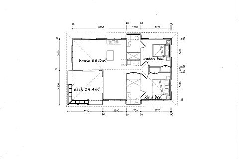 Bungalow Room Plan
