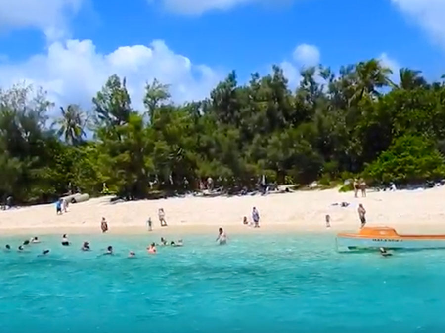 Image of Mystery Island beach